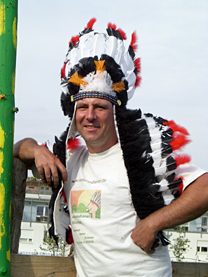 Olly Fritsch, Häuptling der Naturindianer München